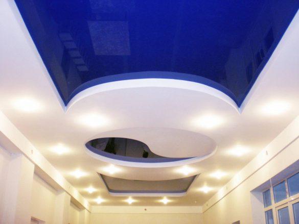многоуровневый потолок дешево изображение
