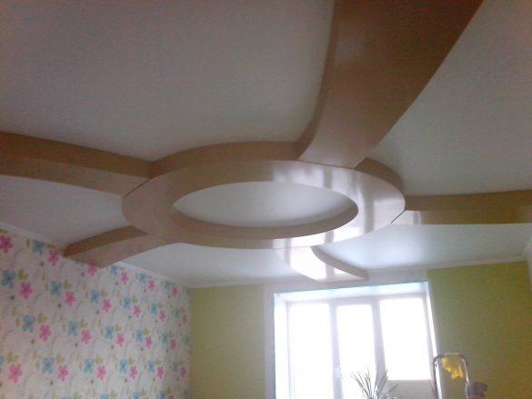 многоуровневый натяжной потолок купить могилев фотография