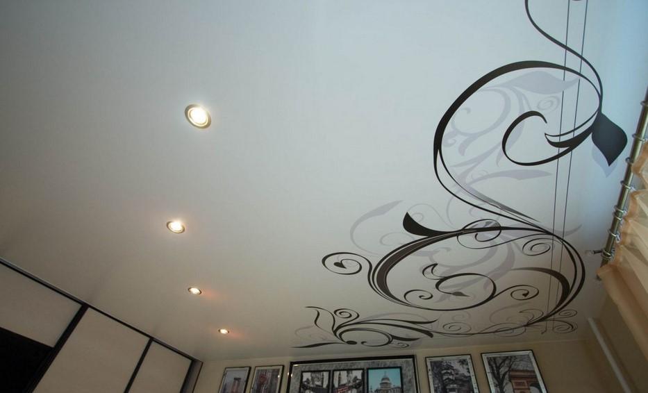 потолок фотопечать фотография