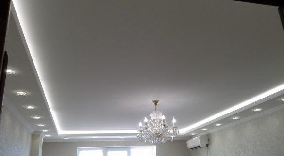 купить натяжной потолок изображение