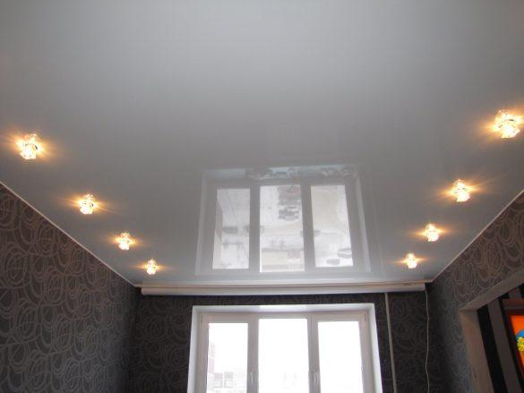 светильники натяжной потолок дешево могилев фотография