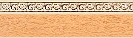 карниз флора персик изображение