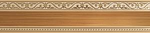 карниз монарх коричевый фотография