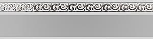 карниз флора серый изображение