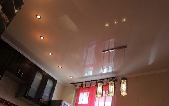 сетильники для натяжных потолков фото